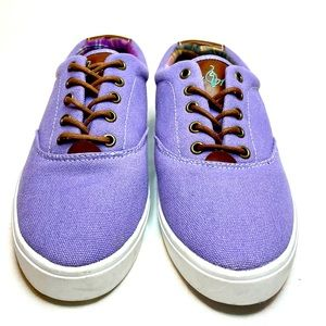 Baby Phat lavender canvas sneakers size 6-7